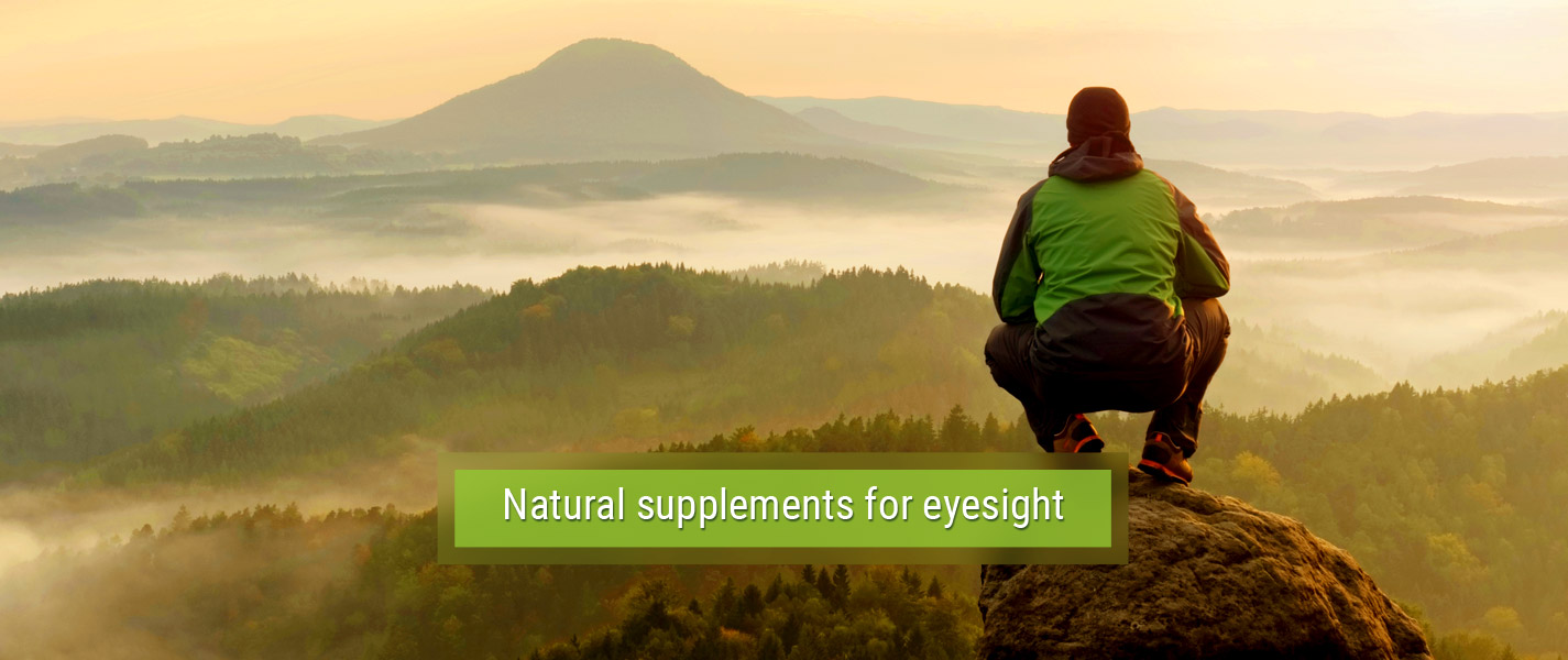 Natural supplements for eyesight